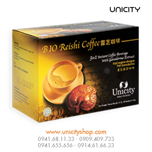 Cafe Linh Chi Bio Reishi Coffee Unicity